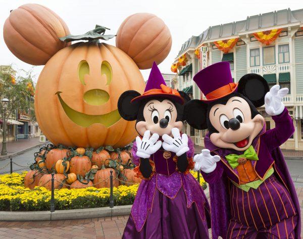 Halloween at Disneyland 2018