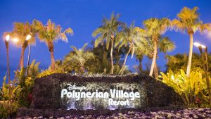 Polynesian Village Resort Signage